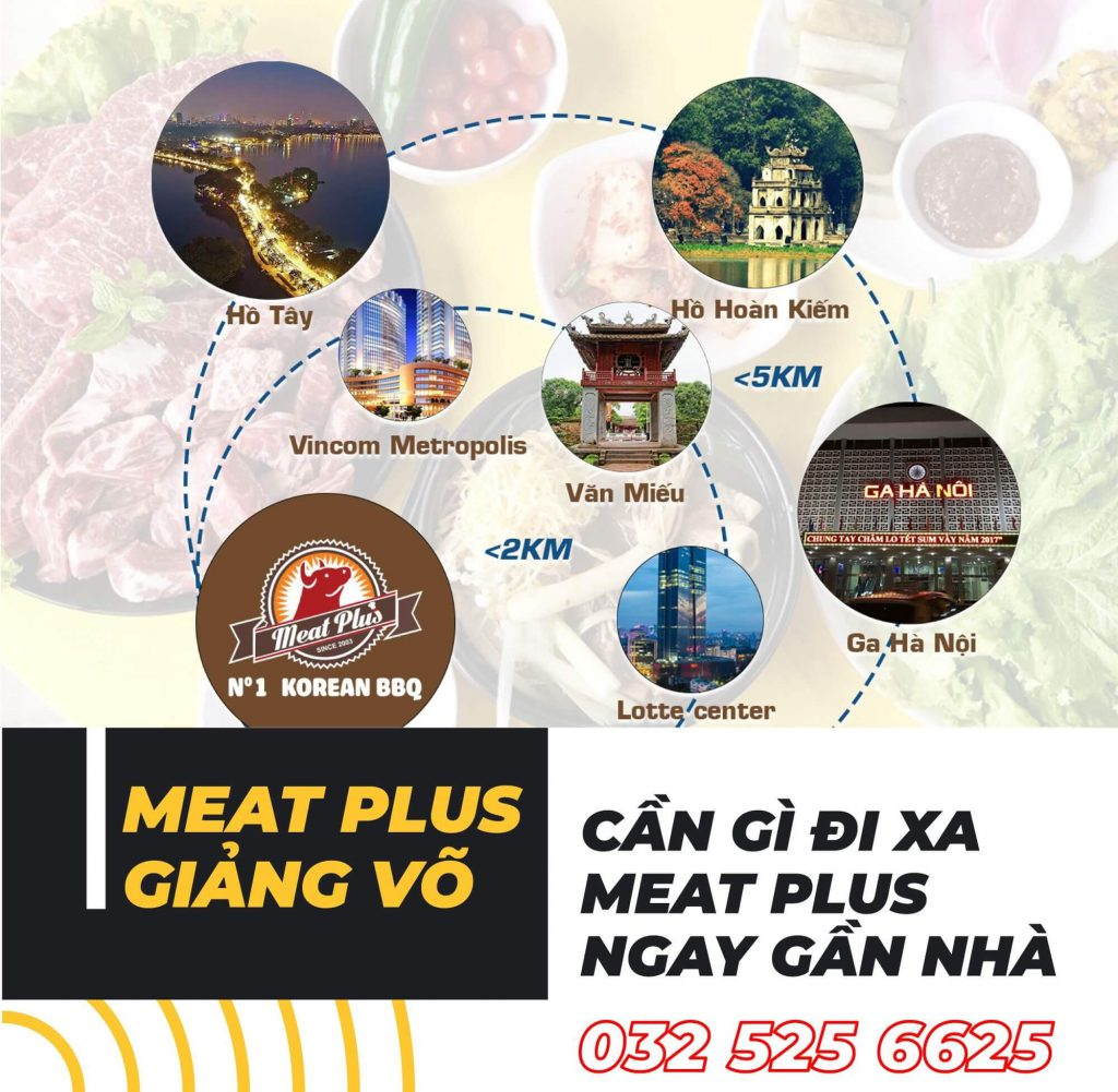meat plus giảng võ